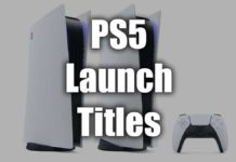 Complete PS5 Launch Game List Image