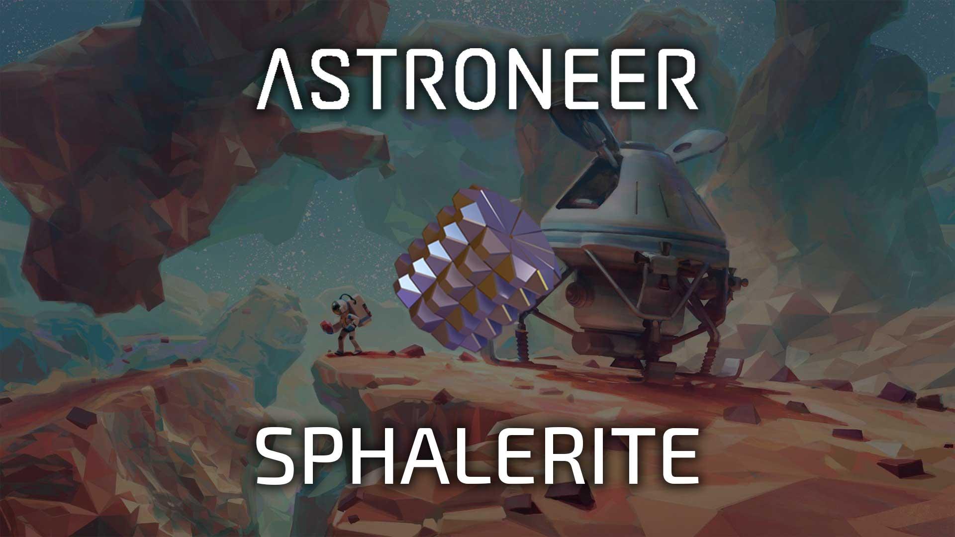 astroneer sphalerite