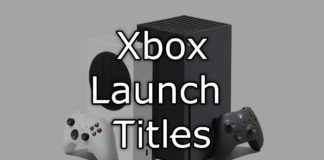 Xbox Series S & X Launch Titles