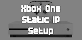 How To Set Static IP On Xbox One