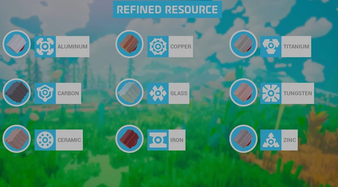 astroneer refined resources