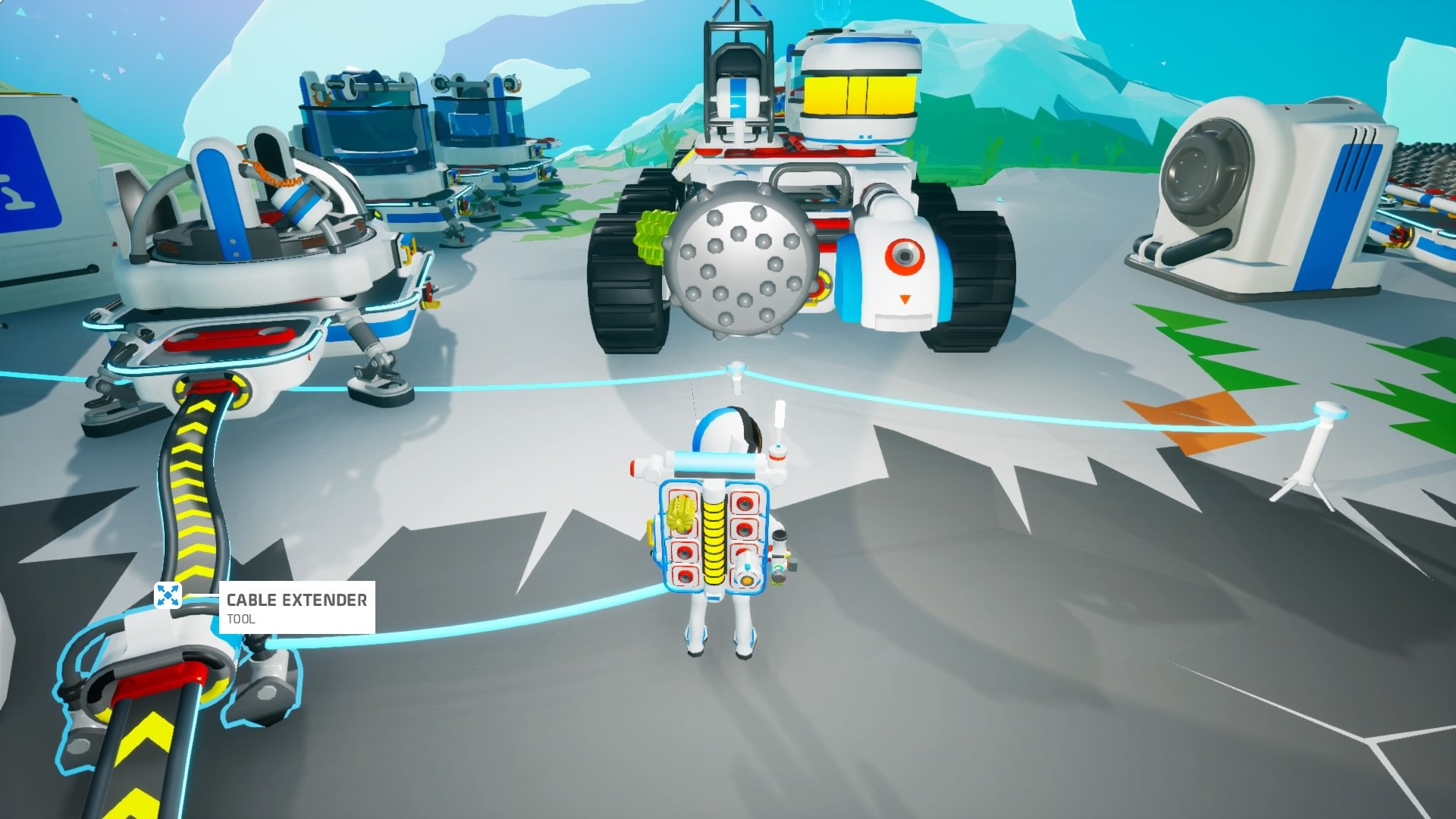 Astroneer tunnel digging rover