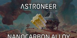Astroneer - Nanocarbon Alloy