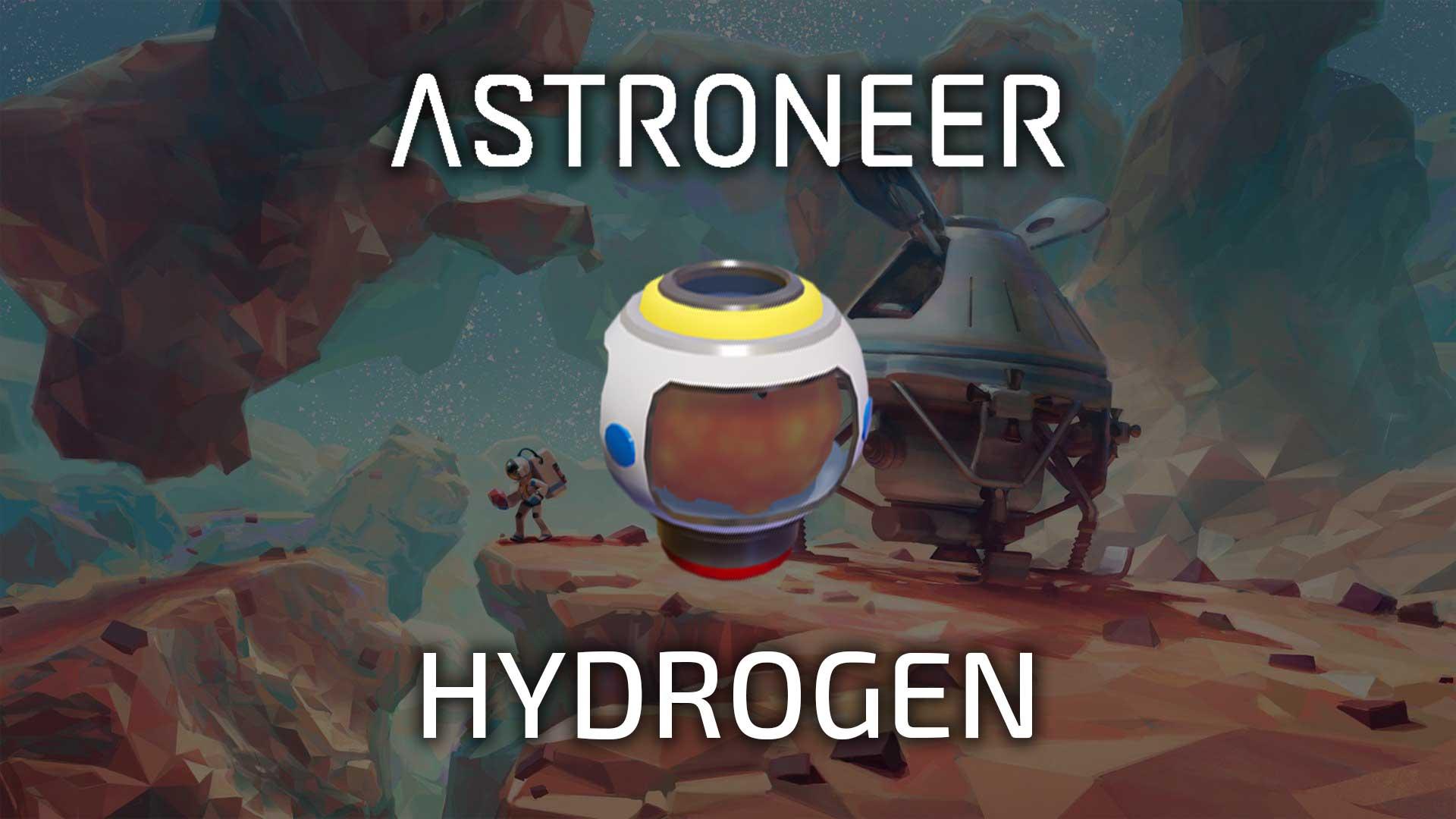 astroneer hydrogen