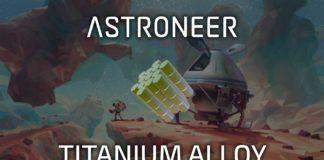 Astroneer - Titanium Alloy
