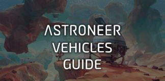 Guide To Vehicles in Astroneer