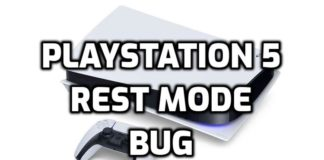 PlayStation 5 Rest Mode Bug