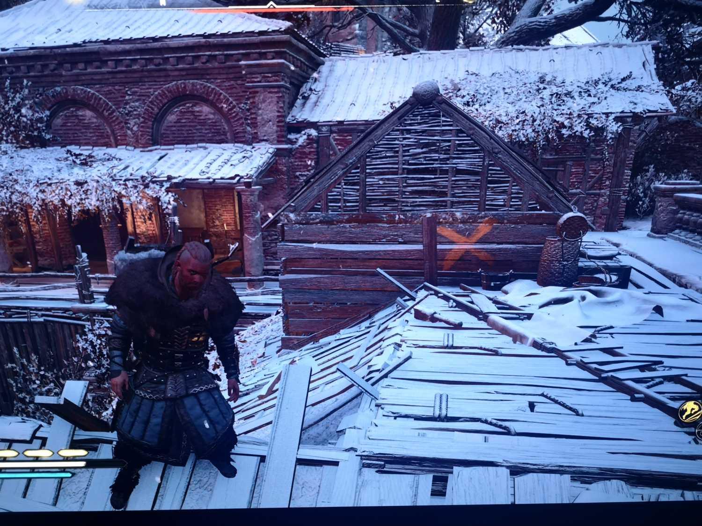 Priests house weak roof