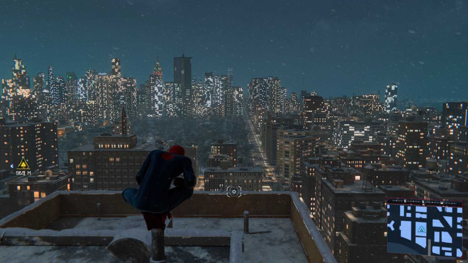 miles morales city view