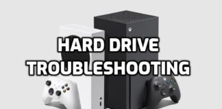 Xbox Hard Drive Troubleshooting Guide Series X/S