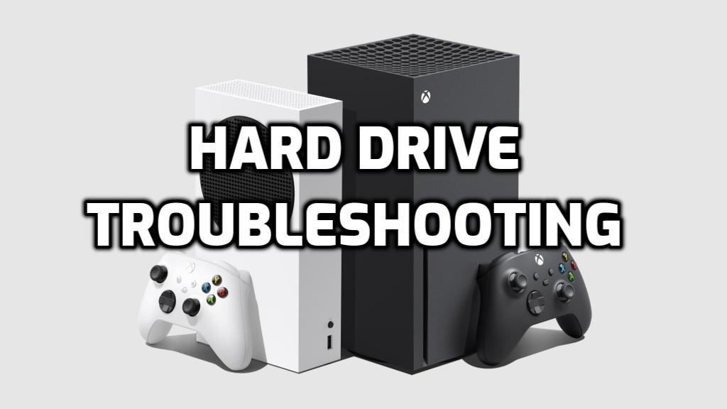 xbox hard drive troubleshooting