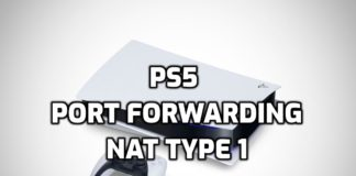 How To Get NAT Type 1 On PS5