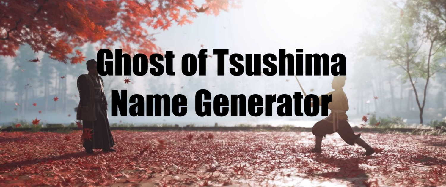 Ghost of Tsushima Name Generator