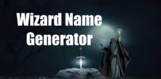 Wizard Name Generator