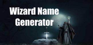 Wizard Name Generator