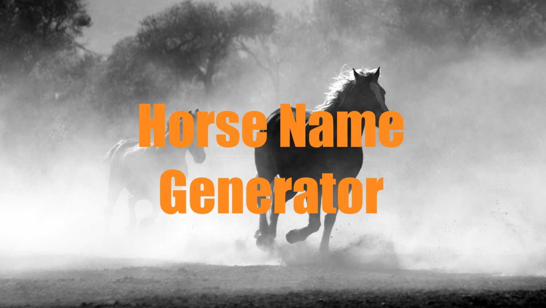 horse name generator
