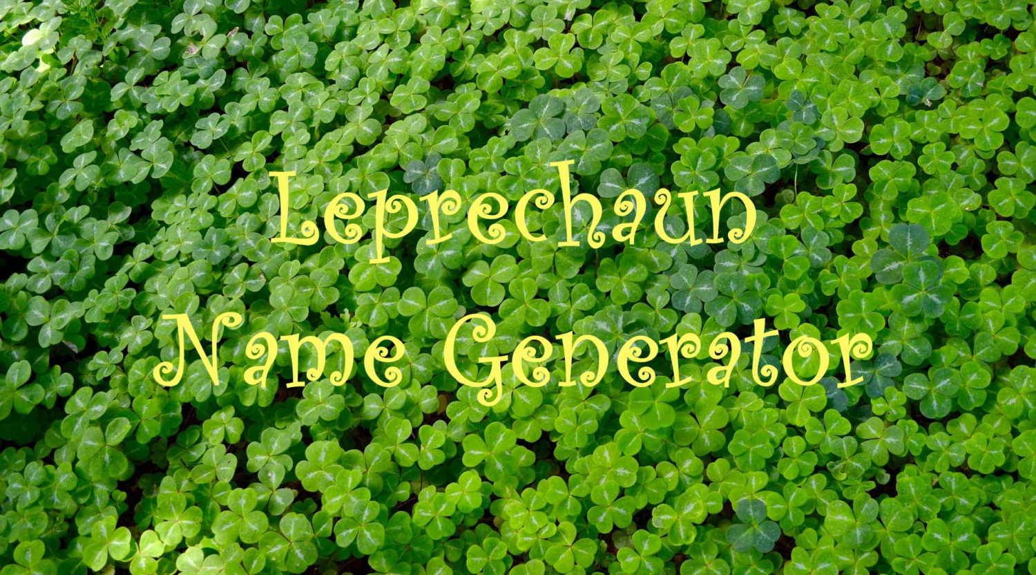 leprechaun name generator