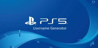PS5 Username Generator