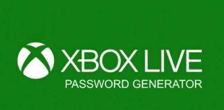 Xbox Live Password Generator