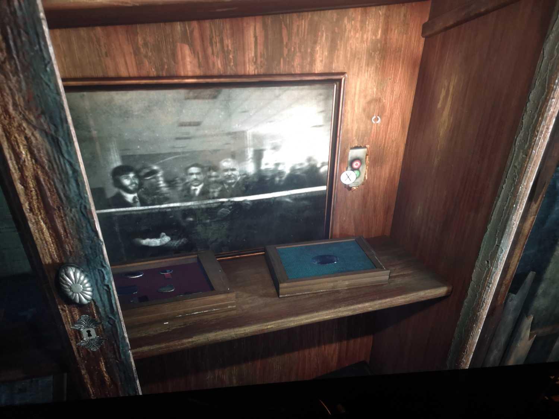 Hidden room in Thomas's office