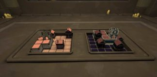 Maquette Mini Building Grid Puzzle Solution
