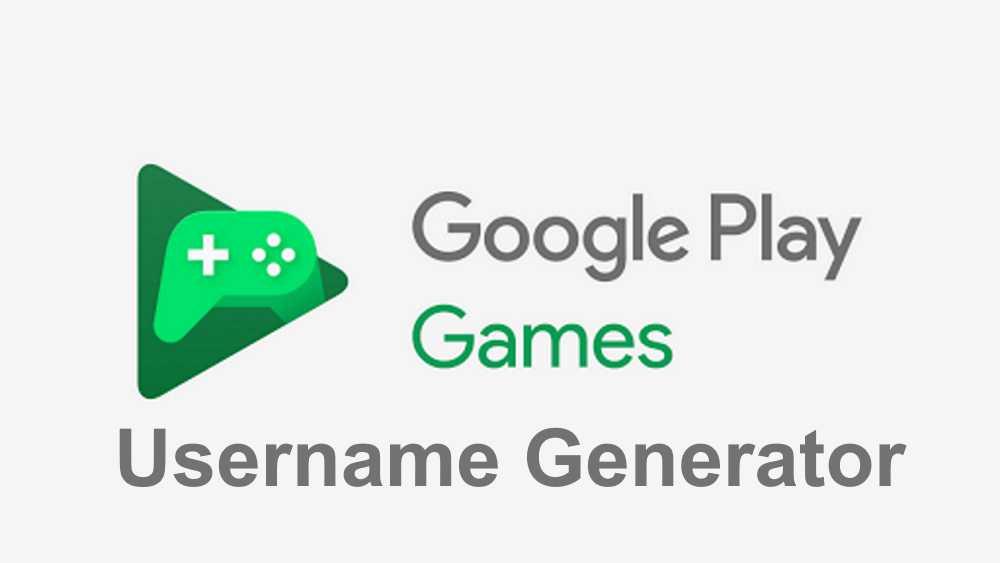 google play games username generator