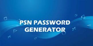 PSN Password Generator