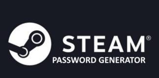 Steam Password Generator