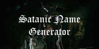 Satanic Name Generator