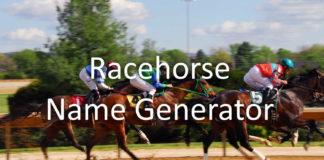Racehorse Name Generator
