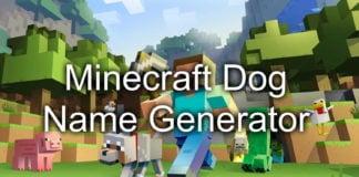 Minecraft Cat Name Generator