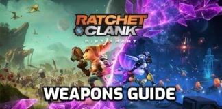Complete Rift Apart Weapons Guide