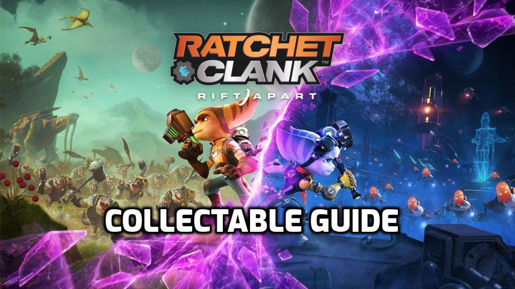 Collectable Guide - Gold Bolts, Spybots, Armor and Craigger Bear Locations Image