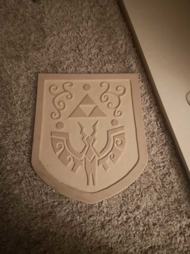 fully carved shield