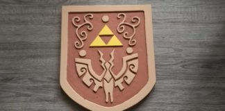 Wind Waker Shield Carving