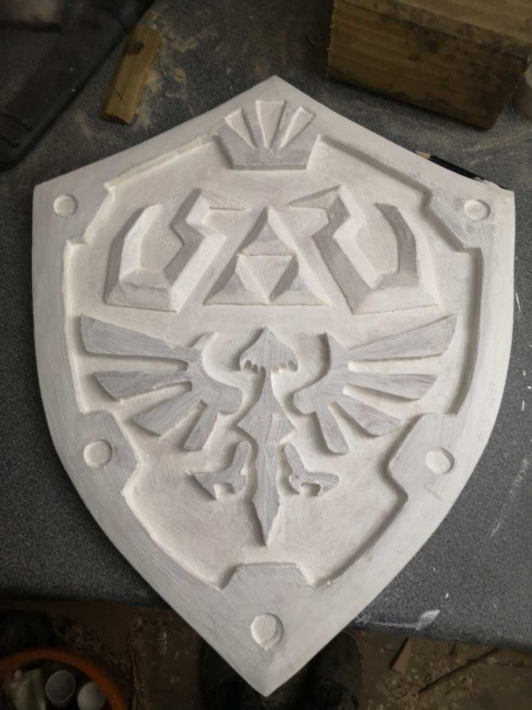 primer layer finished