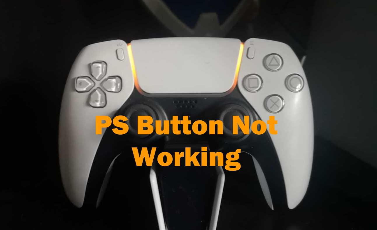 PS Button Not Working PS5 Dualsense Controller Image