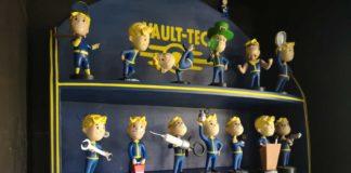 Fallout Bobblehead Shelf