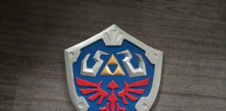 Wooden Hylian Shield From Zelda