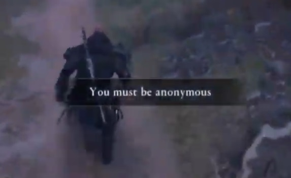 you must be anonymous bug