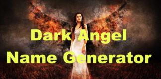 Fallen Angel Name Generator