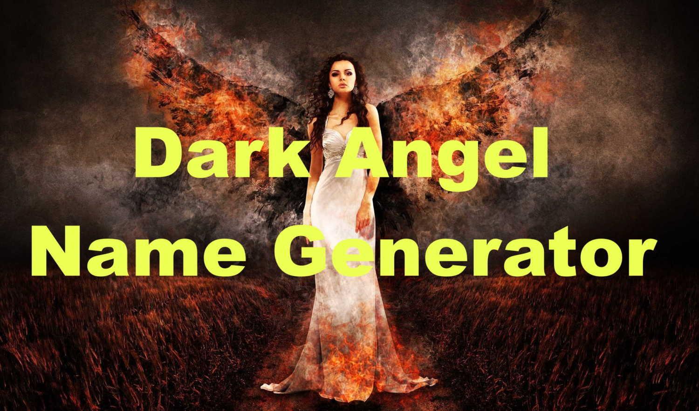 dark angel name generator