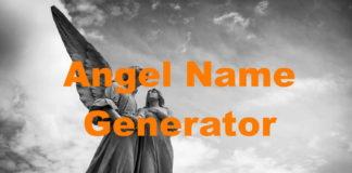 Angel Name Generator