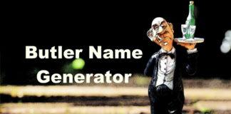 Butler Name Generator