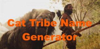 Warrior Cat Tribe Name Generator
