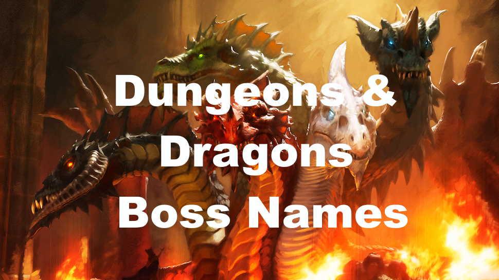 DnD Boss Name Ideas Image