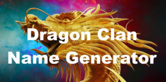 Dragon Clan Name Generator