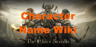 ESO Character Name Idea Wiki