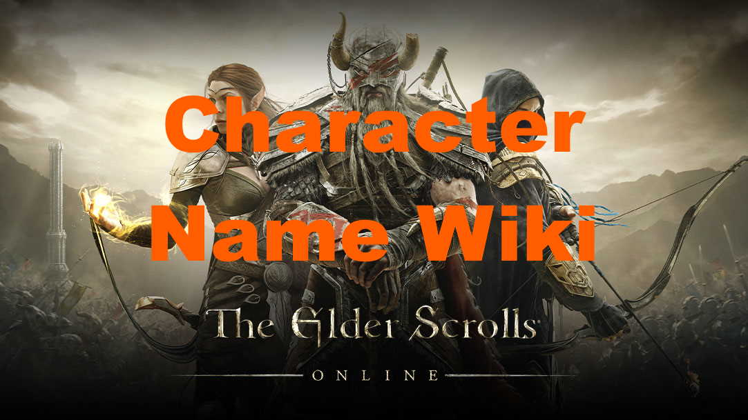 eso character name wiki