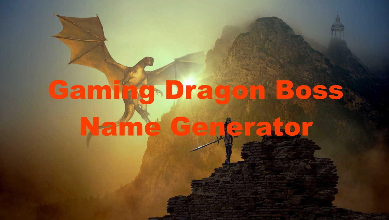gaming dragon boss name generator
